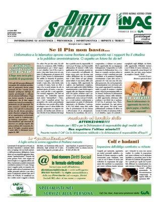 La prima pagina dell