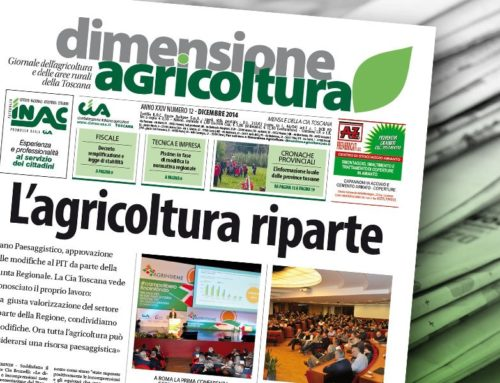 """""""L'agricoltura riparte"""" con il nuovo numero di Dimensione Agricoltura"""