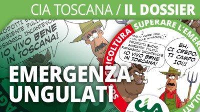 Cia Toscana / Il dossier - Emergenza ungulati