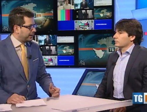 Luca Brunelli sulla Rai, intervistato dal TG3 Toscana