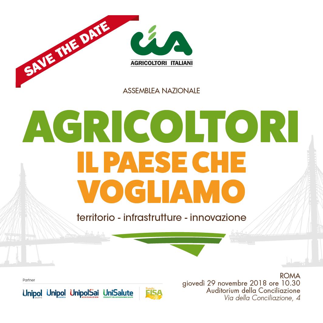 Assemblea nazionale Cia Agricoltori Italiani 2018