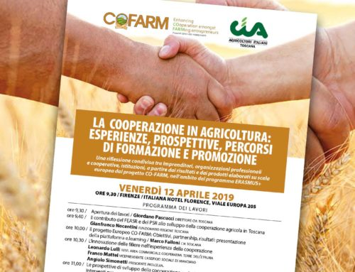 La cooperazione in agricoltura. Venerdì 12 aprile il meeting Co-Farm a Firenze