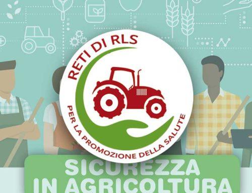 """Salute e sicurezza sul lavoro in agricoltura. Giornata di studio delle """"Reti di RLS"""" a Pistoia il 28 febbraio 2020"""