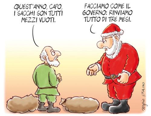 2019, dicembre / La vignetta di Sergio Staino