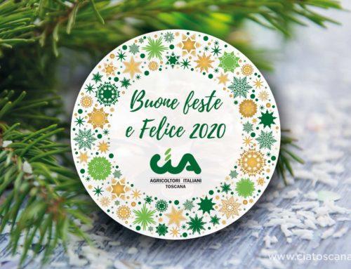 La Cia Toscana augura a tutti buone feste e un felice 2020