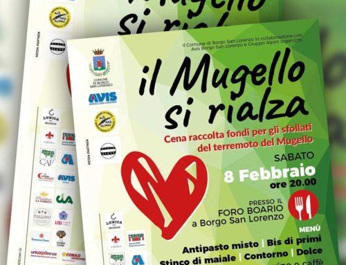 Il Mugello si rialza. 8 febbraio cena di solidarietà per gli sfollati del terremoto