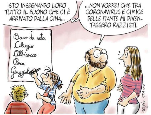 2020, febbraio / La vignetta di Sergio Staino