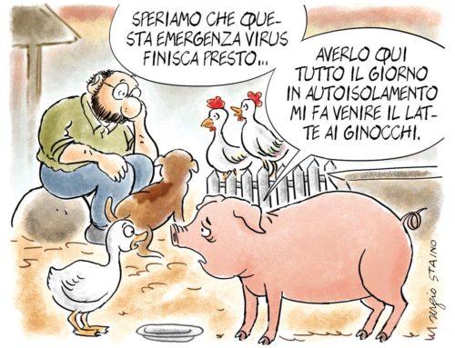 2020, marzo / La vignetta di Sergio Staino