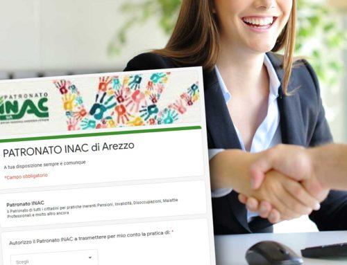 Servizi di patronato online. L'Inac di Arezzo lancia uno sportello su internet per l'assistenza ai cittadini