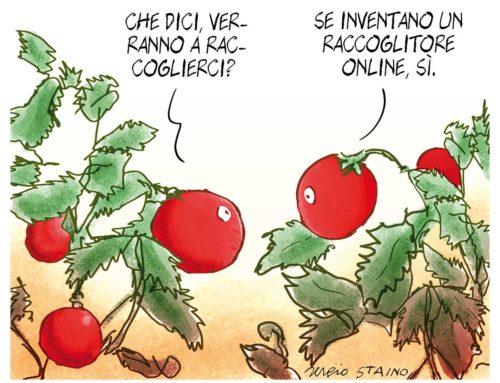 2020, maggio / La vignetta di Sergio Staino