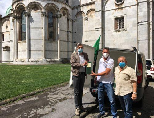 Cia Toscana Nord, Ases e Frantoio Sociale del Compitese donano alla Caritas 110 litri di olio extravergine