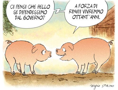 2020, luglio-agosto / La vignetta di Sergio Staino