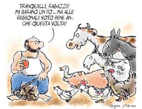 2020, settembre / La vignetta di Sergio Staino