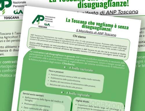 Elezioni regionali 2020. Documento Anp: la Toscana che vogliamo è senza disuguaglianze