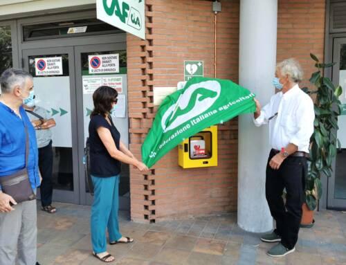 Lucca. Un defibrillatore al Patronato Inac per ricordare Sergio Pagliai scomparso un anno fa