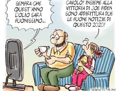 2020, novembre / La vignetta di Sergio Staino