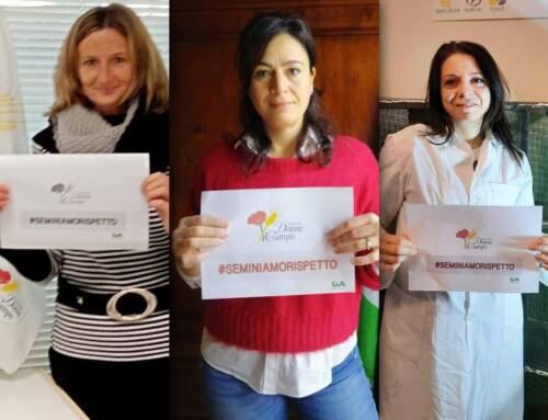 25 novembre. Donne in Campo Cia lancia la campagna #seminiamorispetto