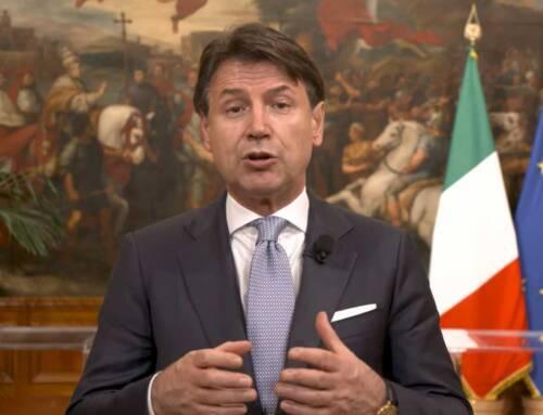 Il messaggio del premier Giuseppe Conte all'Assemblea nazionale Cia