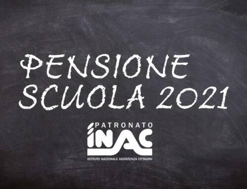 Patronato Inac. Pensioni scuola 2021, uscita la circolare Inps per il personale scolastico