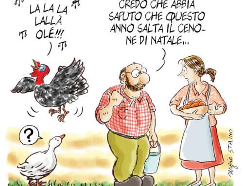 2020, dicembre / La vignetta di Sergio Staino