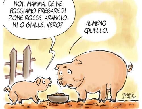 2021, gennaio / La vignetta di Sergio Staino