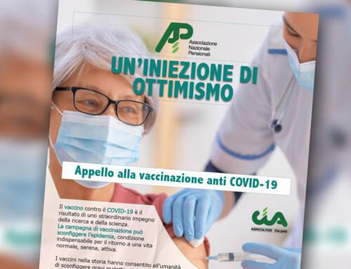 Un'iniezione di ottimismo. Appello di Anp Cia per la vaccinazione anti-Covid