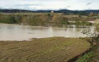Campi alluvionati, esondazioni di fiumi