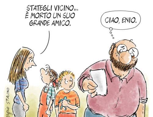 2021, marzo / La vignetta di Sergio Staino