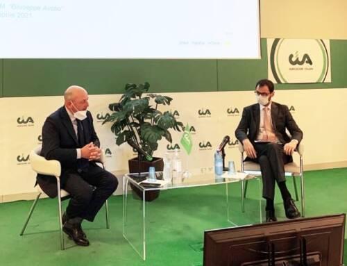 """Patuanelli alla Direzione Cia. «La """"transizione verde"""" non solo questione ambientale. Riguarda competitività e modelli di sviluppo»»"""