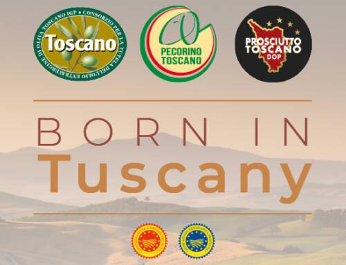 Successo europeo per Born in Tuscany, la sinergia delle DOP IGP regionali