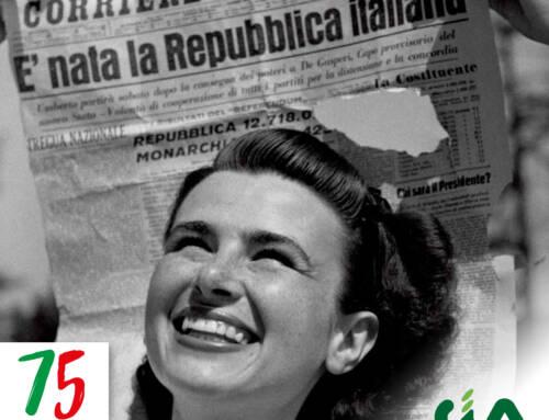 2 giugno 1946-2021. Buona festa della Repubblica